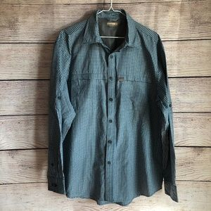 G.H. Bass & Co Button Up Explorer Shirt Large